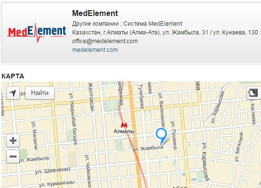 Онлайн-каталог медицинских организаций
