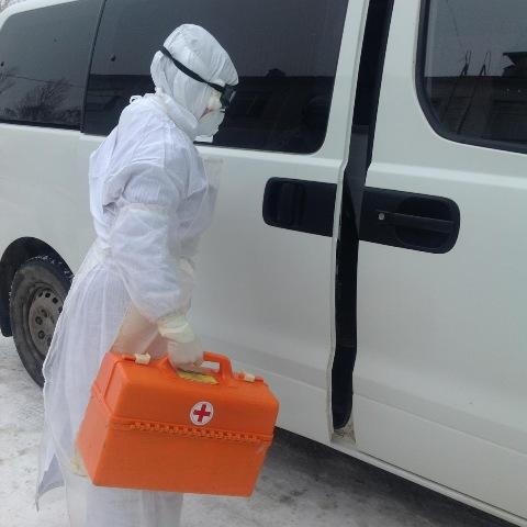 Ауданның медицина қызметкерлері коронавирустық инфекцияға қарсы күреске дайындалуда
