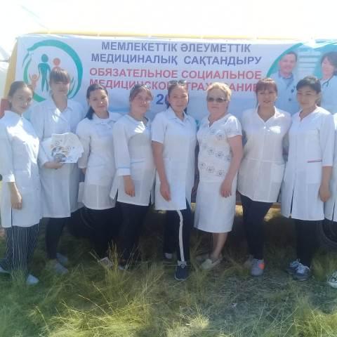 В Шортандинском районе проведена информационно-разъяснительная работа по  ОСМС
