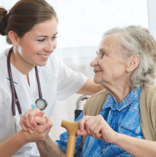 Медицинское обслуживание пожилых людей