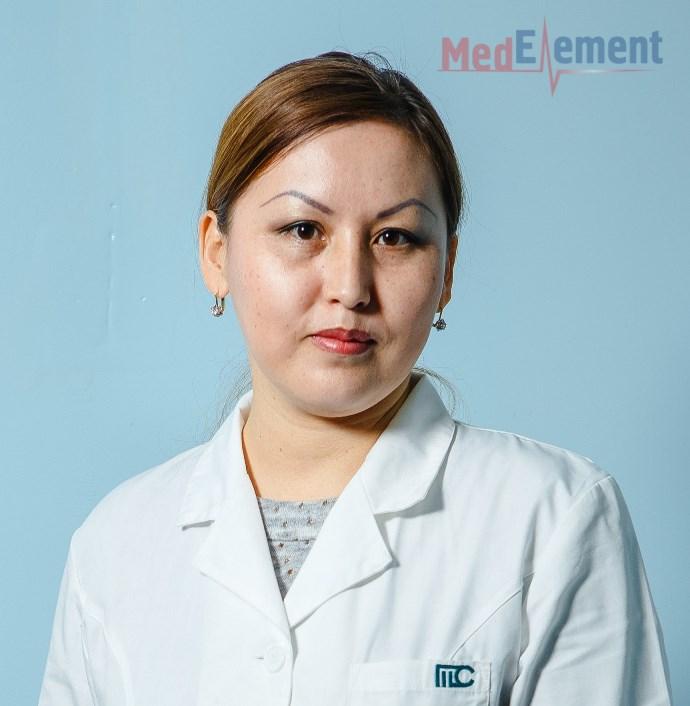 Сабырова Мария Елемесовна
