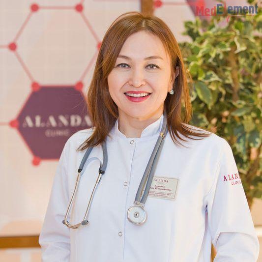 Ахмедина Улдана Куанышбековна