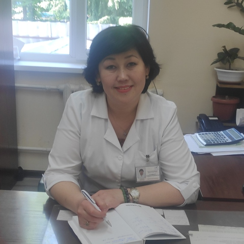 Оразханова Нуржамал Хашимовна