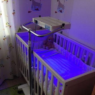 Лечение желтушности новорожденного на дому