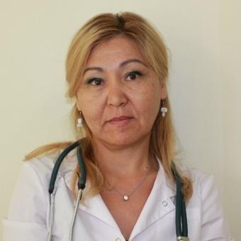 Новый врач - терапевт Айтенова Балкия Балгабаевна