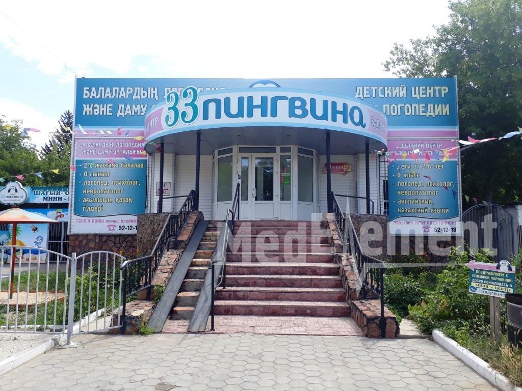 """Детский центр логопедии """"33 ПИНГВИНА"""""""