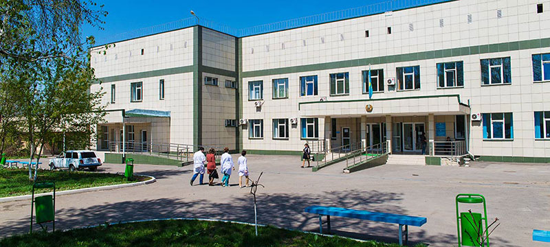 Городская больница Алатау