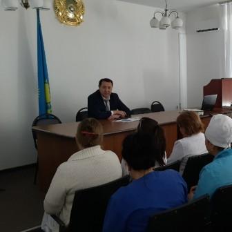 Встреча с директором филиала НАО