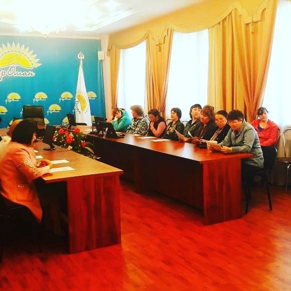 Информационно-разъяснительная работа для населения района Тереңкөл