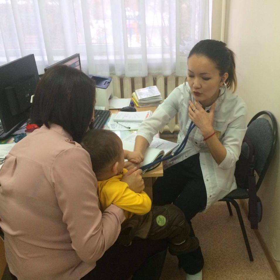 Профилактическая работа участковых педиатров