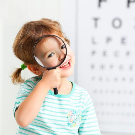 Аппаратное лечение глаз у детей