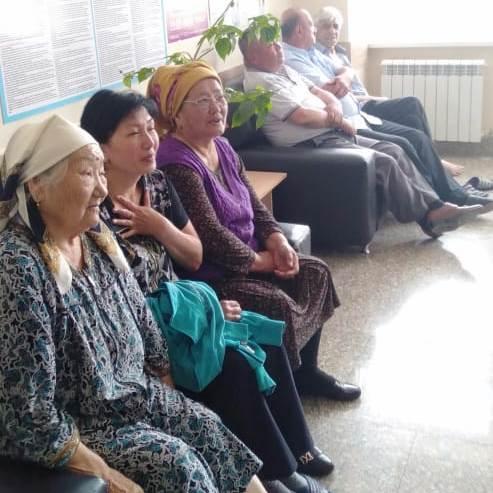 Ленгерская городская больница провела мероприятия, появященные Международному дню борьбы с курением