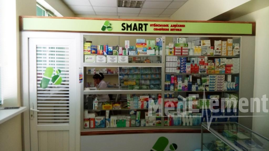 """Семейная аптека """"SMART"""" в медицинском центре """"Каусар"""""""