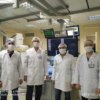 Мастер-класс по выполнению хирургического лечения варикозного расширения вен