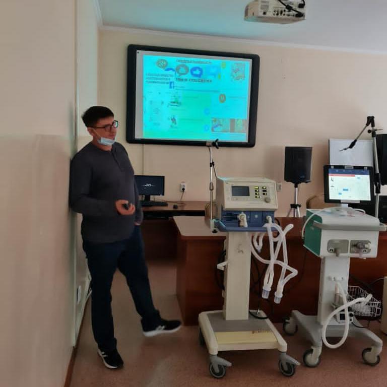 Мастер-класс на тему «Особенность респираторной поддержки, подбор режимов вентиляции у пациентов с Соvid-19»