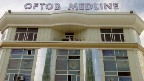 """Многопрофильная клиника """"OFTOB MEDLINE"""""""