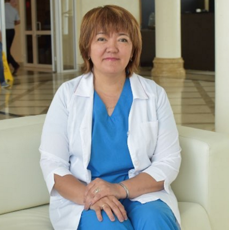 Новый кардиолог - Сарбалинова Гульжан Канапиевна