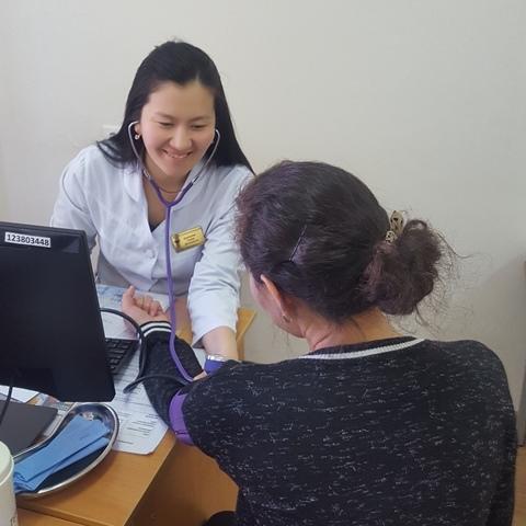 В Городской поликлинике №5 прошел День открытых дверей для многодетных семей