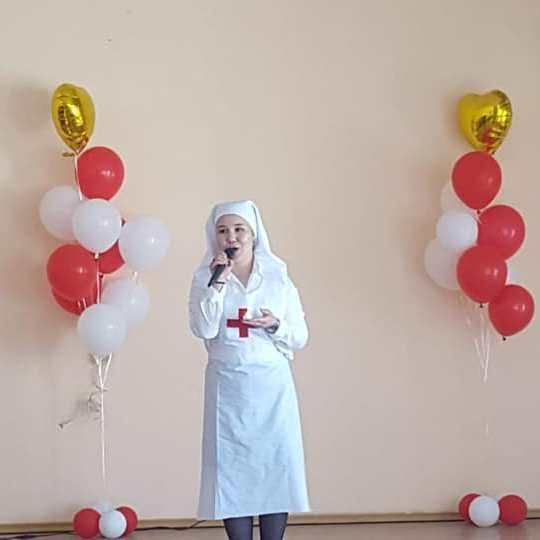 Торжественное мероприятие посвящённое Всемирному Дню медицинской сестры