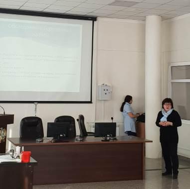Семинар-тренинг в Перинатальный Центр №3 г. Нур-Султан