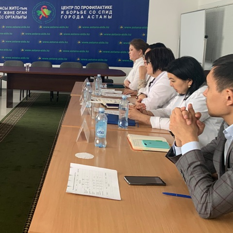 Совещание с представителями НПО в г.Нур-Султан