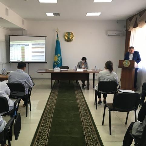 Итоги деятельности Центра СПИД города Нур-Султан рассмотрены на совещании