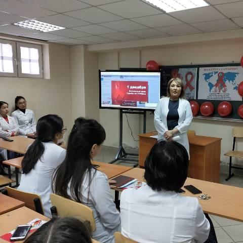 Лекция студентам МУА города Нур-Султан