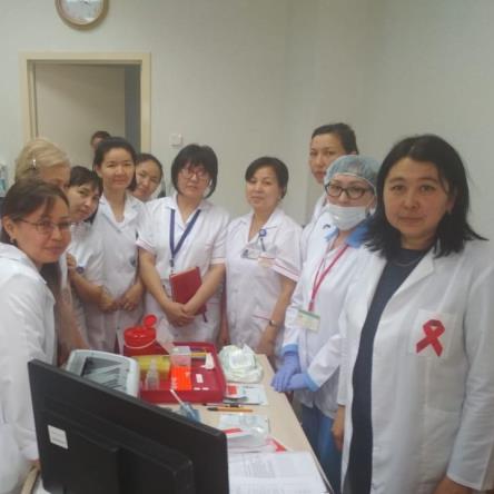Обучающий семинар по экспресс-тестированию на ВИЧ