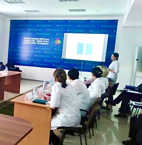 Межведомственное совещание центра СПИД с представителями ДУИС г. Нур-Султан