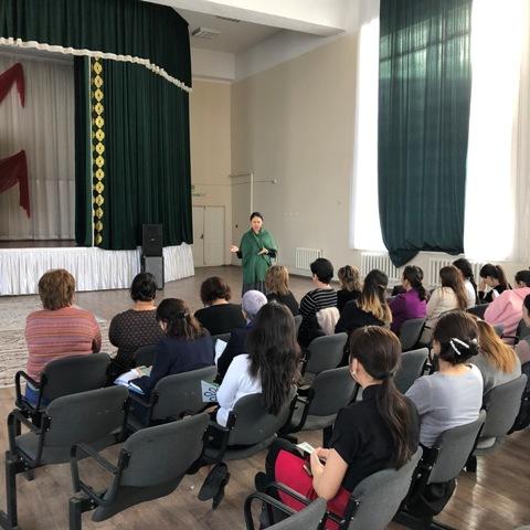 ИРР по ОСМС в городской школе №58