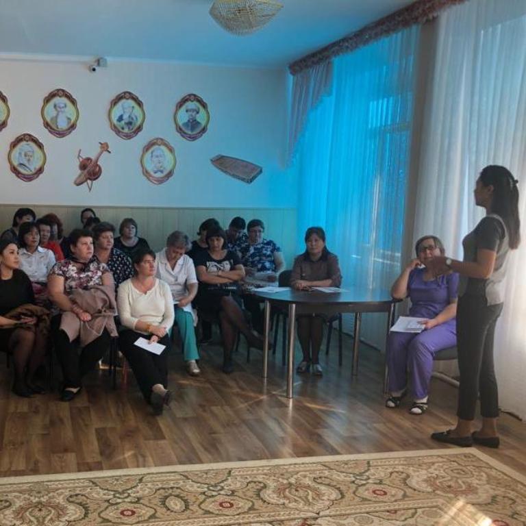 Продолжаются семинары «О внедрении ОСМС» в ясли-садах