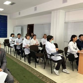 Медицинский совет в Центре СПИД г.Нур-Султан