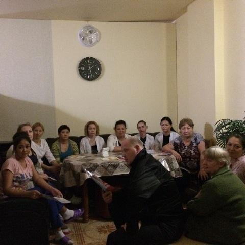 Лекции по профилактике ВИЧ и внедрению медицинского страхования для объектов бизнеса города Нур-Султан
