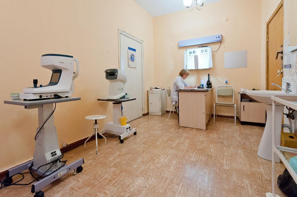 Зав отделением больница 23