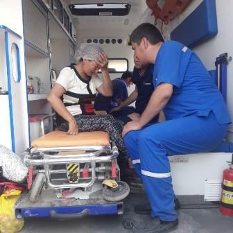 Медицинская помощь жителям города Арысь