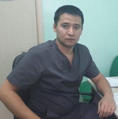 Новый врач - отоларинголог Даулетияров Алибек Бахтыбекович
