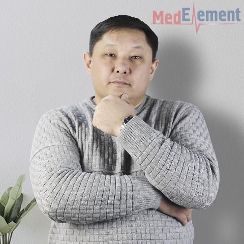 Кундакбаев  Б. К. психотерапевт бөлмесі