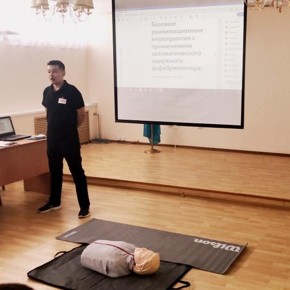 В МОБ 2 проведено обучение по оказанию сердечно-легочной реанимации