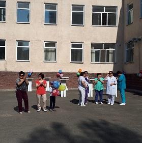В МОБ 2 прошел День медицинской сестры