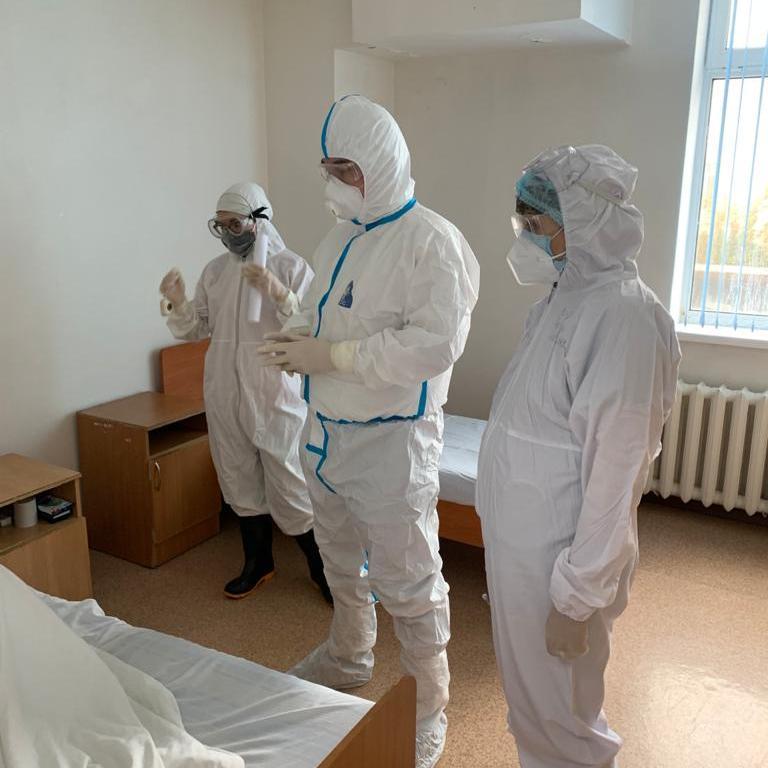 11 сентября состоялся обход Руководителя управления здравоохранения Акмолинской области Н. Сыздыкова.