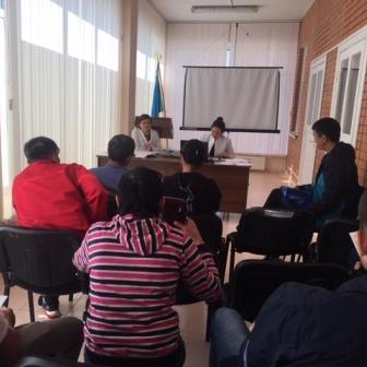Семинар-тренинг для аутрич-работников