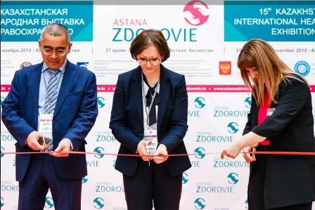 Медицинская выставка AstanaZdorovie 2019 - уже в следующий четверг, 24 октября