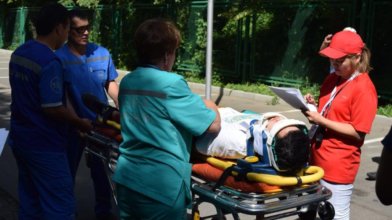 С 5 по 7 сентября в Астане пройдут соревнования бригад скорой медицинской помощи